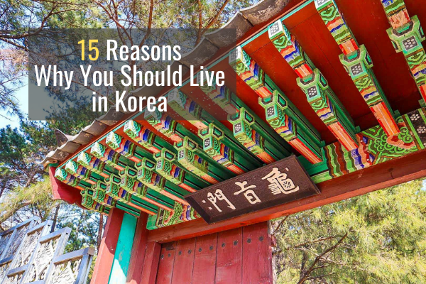 15 Reasons Why You Should Live in Korea