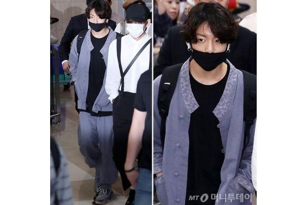 BTS Jungkook Wearing Hanbok