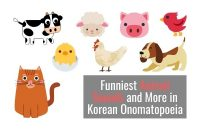 Here Are the Funniest Animal Sounds and More in Korean Onomatopoeia
