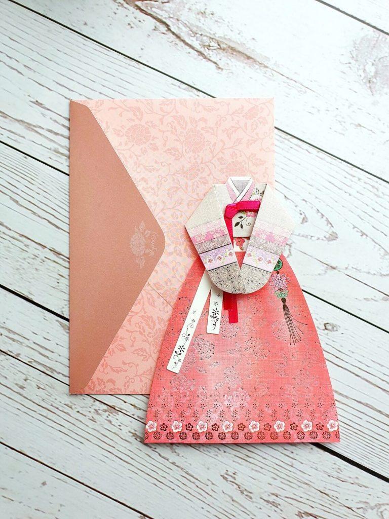 Hanbok Card_Etsy