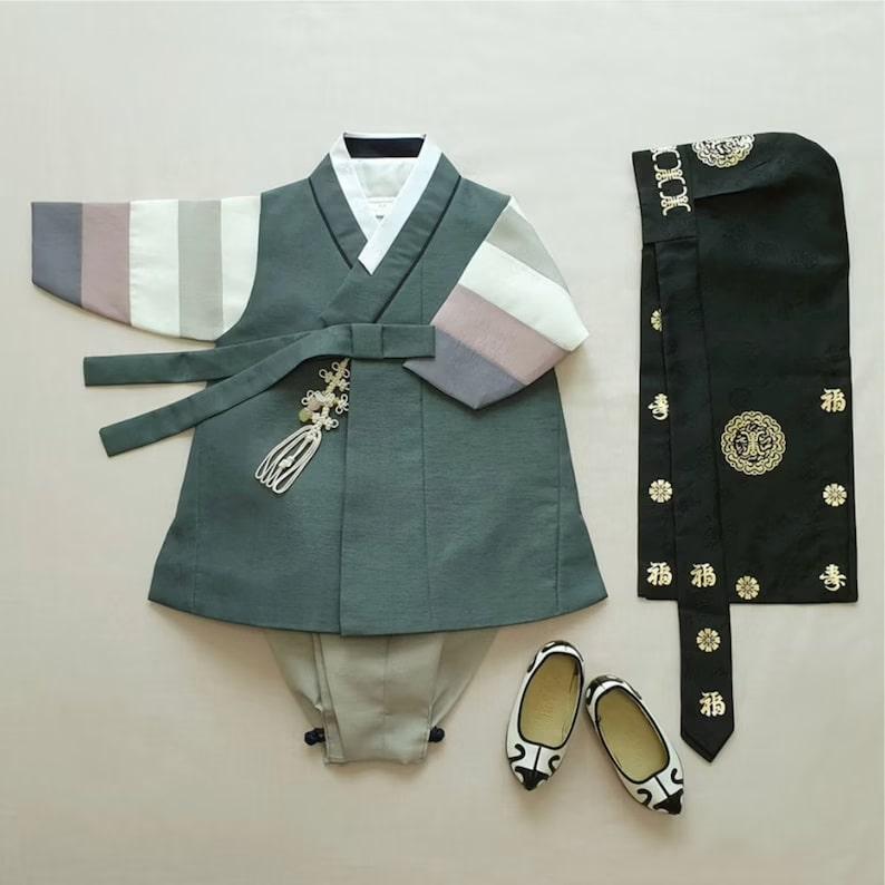 Hanbok for Baby Boy_Etsy