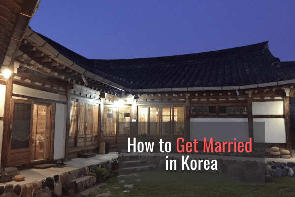 How to Get Married in Korea