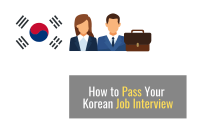 How to Pass your Korean Job Interview [2021]