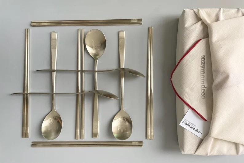 Korean Cutlery Set_Etsy