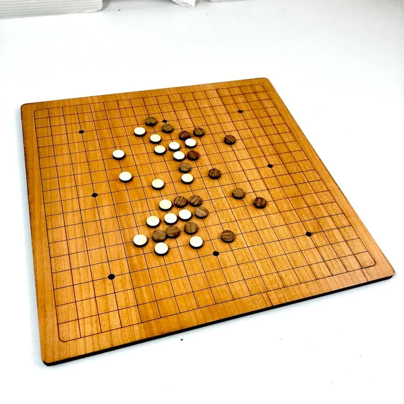 Korean Go Game Set_Etsy