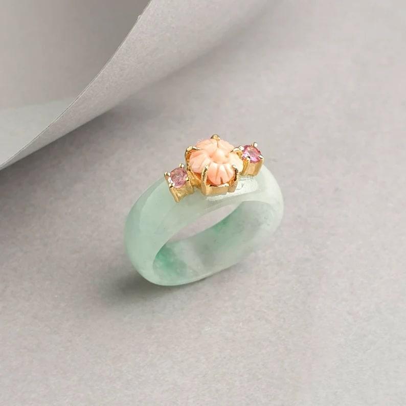 Korean Jade Ring_Etsy