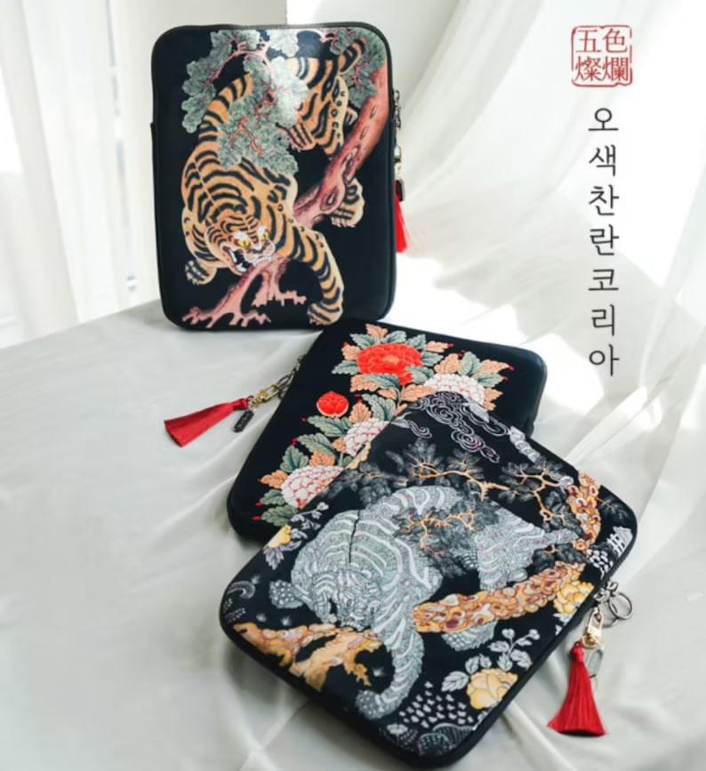 Korean Laptop Cover_Etsy