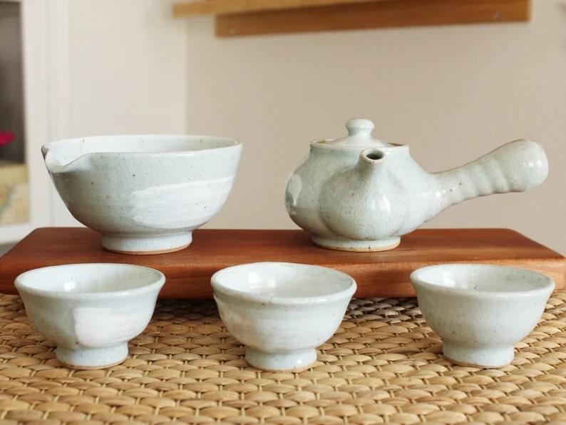 Korean Teapot Set_Etsy