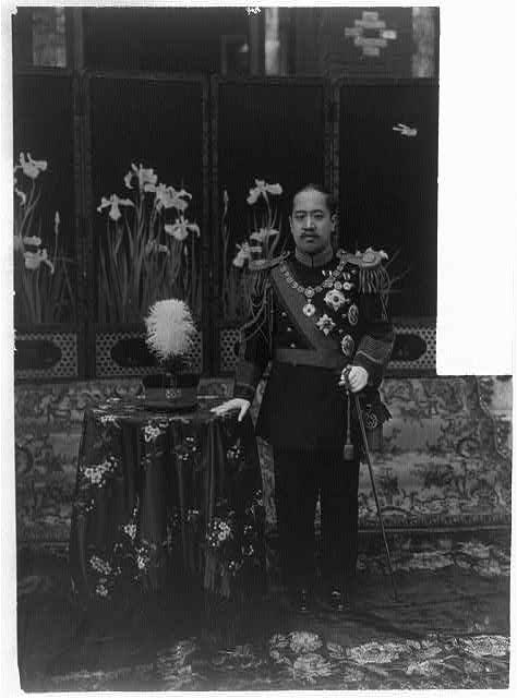 Korean emperor in uniform of a Korean General