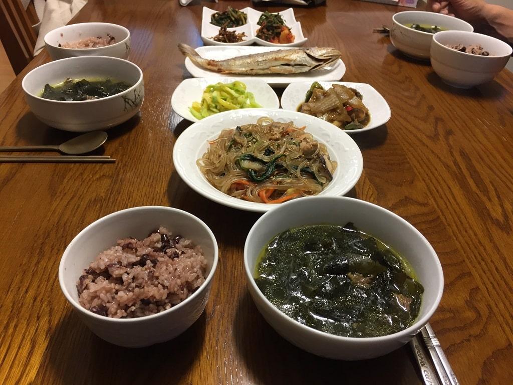 Lingua Asia_Home cooked Korean food