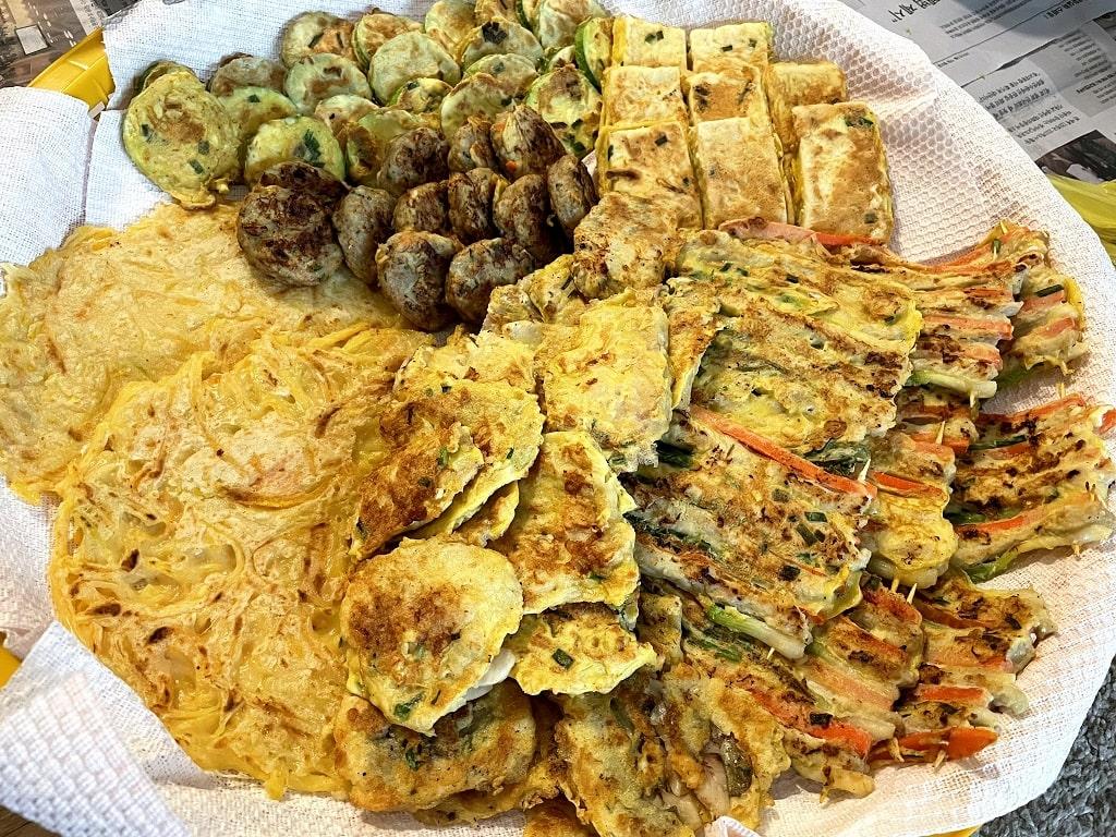 Lingua Asia_Korean Food_Jeon Assortment