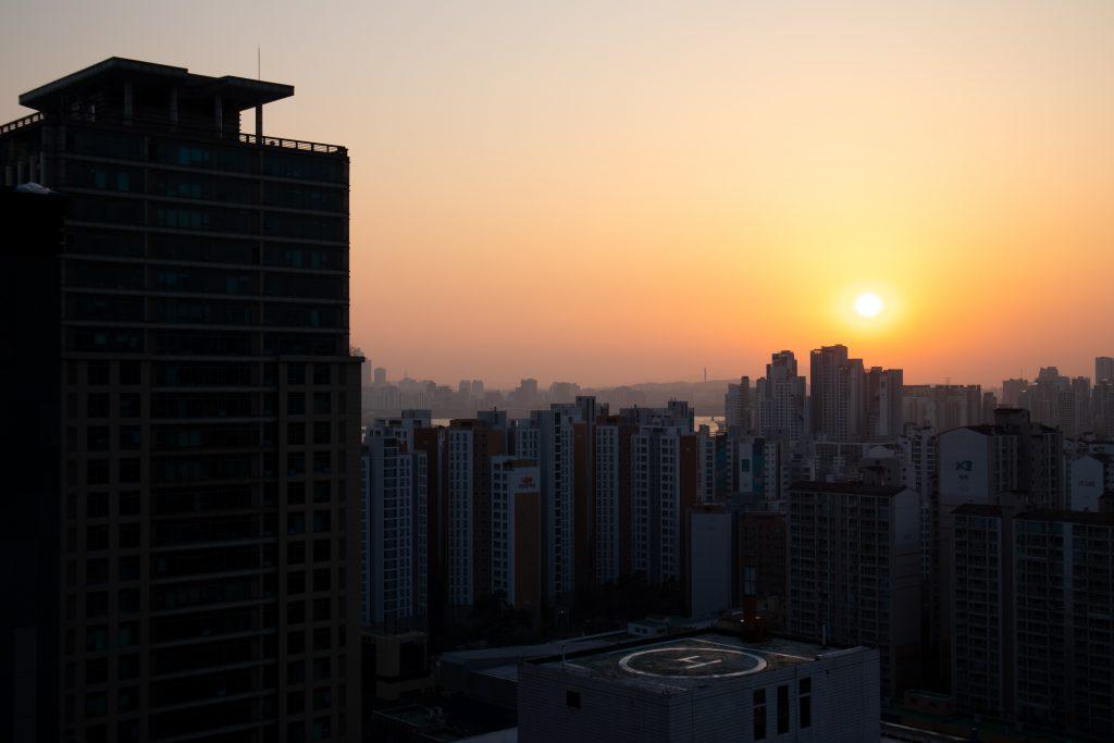 Lingua Asia_Sunset_Seoul_2021