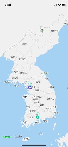 Lingua Asia_Top Korean Apps_Naver Map (네이버지도)