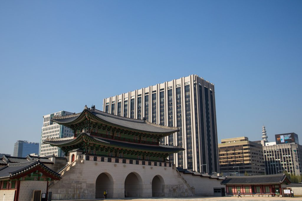Lingua Asia_Traditional and Modern Buildings_Seoul_2021