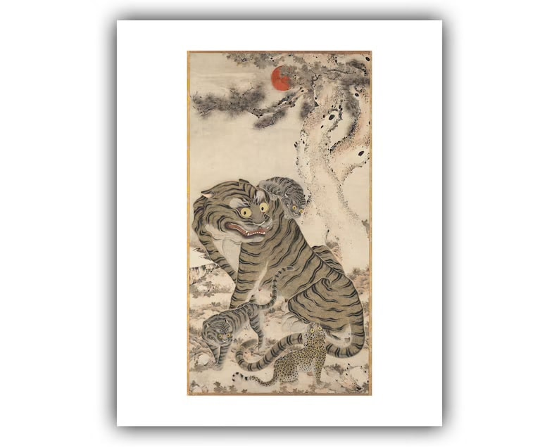 Tiger Painting_Etsy