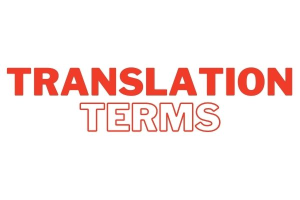 Translation Terms