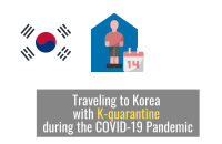 Traveling to Korea with K-quarantine during the COVID-19 Pandemic [2020]