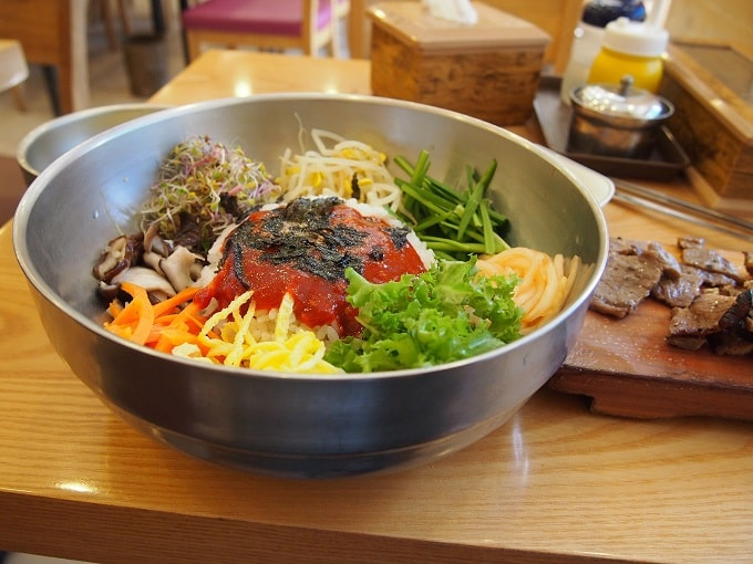 korean food bibimbap