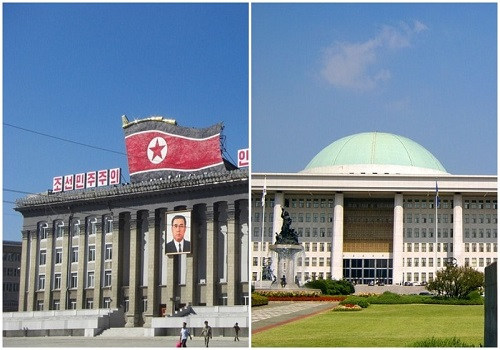 North Korean South Korean government